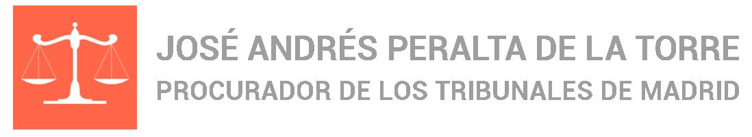 Procurador de Madrid   José Andrés Peralta de la Torre